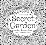 Secret Garden: An Inky Treasure Hunt and Coloring Book (For Adults, mindfulness coloring)